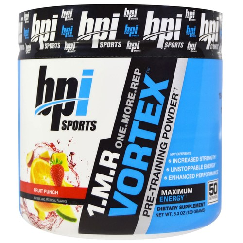 BPI 1.M.R. Vortex, Fruit Punch - 50 Servings - eVitamins.com