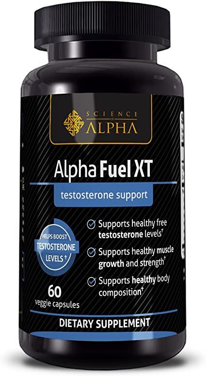 Amazon.com: Testosterone Booster Alpha Fuel XT — Naturally ...