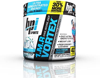 Amazon.com: BPI Sports 1.M.R Vortex Pre-Workout Powder, Arctic Ice ...