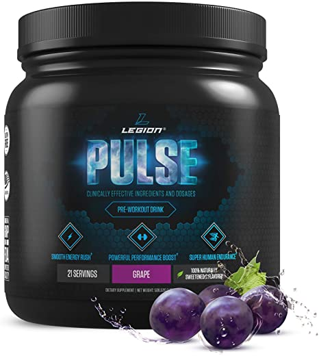 Amazon.com: Legion Pulse, Best Natural Pre Workout Supplement for ...