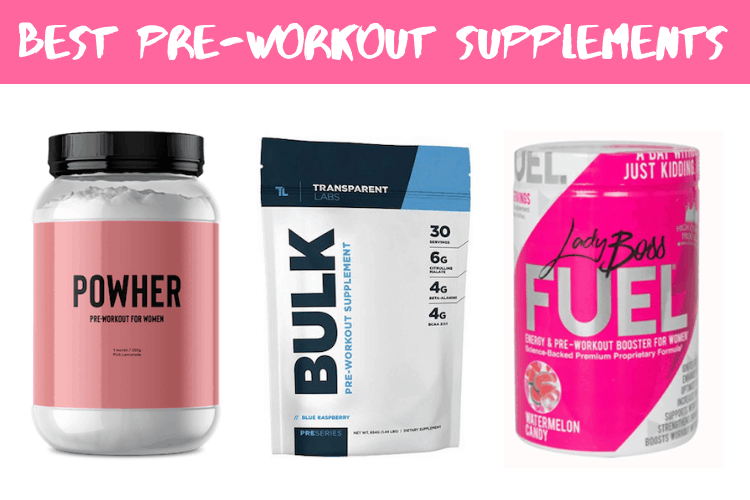 10 Best Pre-Workout Supplements for Women [2020 Edition] - Mom ...