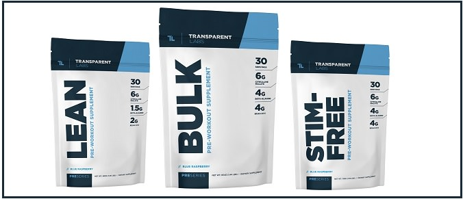 Pre Series Bulk Pre Workout - Cumulative 2018 Review