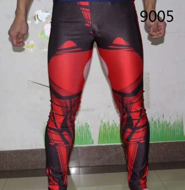 Under Armour Iron Man Mens Alter Ego Compression Pants Workout ...