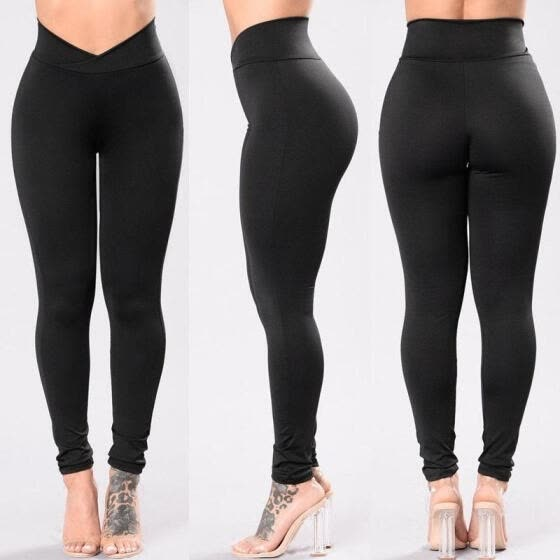 Shop Women Compression Tights Fitness Pants Running Sports Gym ...