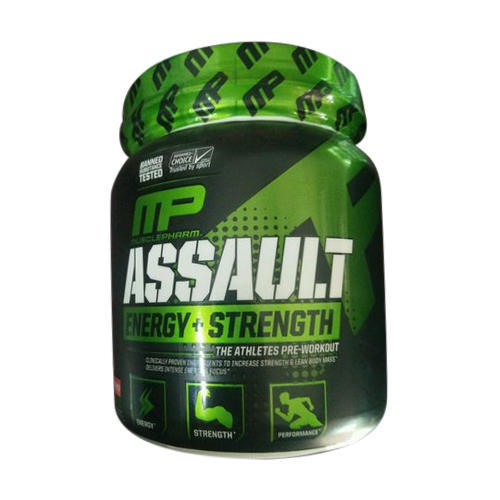 MP Muscle Building Musclepharm Assault Pre Workout, 300g ,pre workouts