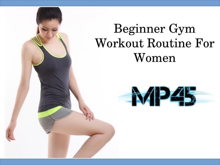 Beginner Gym Workout Routine For Women