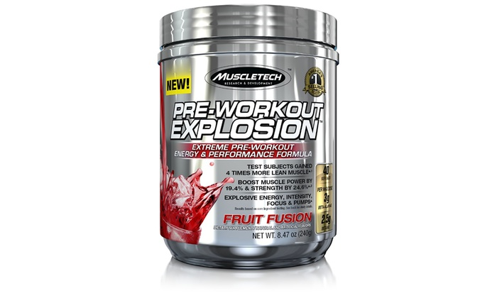 MuscleTech Pre-Workout Explosion Supplement (1- or 2-Pack) | Groupon