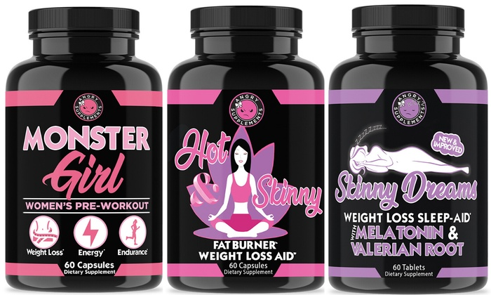 Up To 60% Off on Supplements for Women (3-Pack) | Groupon Goods