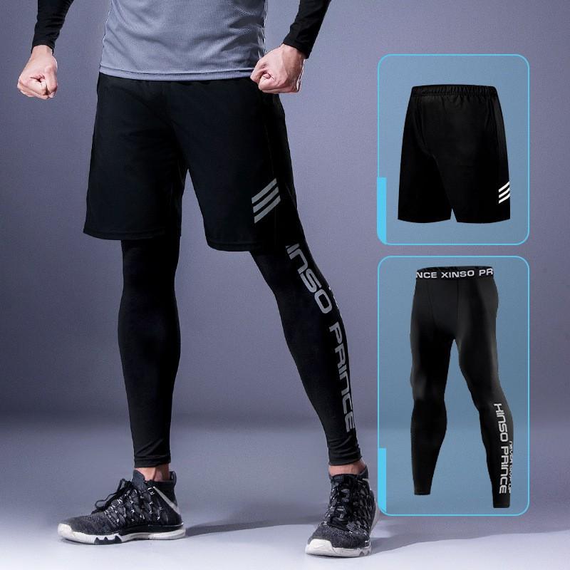 Ready Stock Men's Fast-Drying Jogging Pants Men Sports Running ...