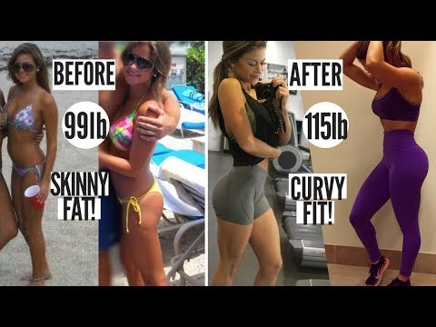 HOW TO BUILD MUSCLE AND CURVES | FROM SKINNY FAT TO FIT! - YouTube