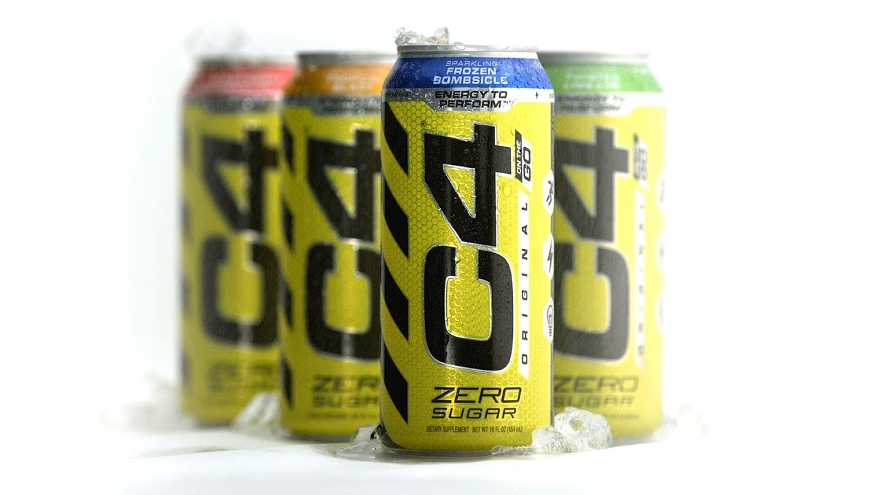 Zero calorie C4 energy drink for wherever your workout takes you