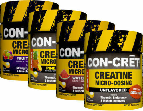 Con-cret Creatine HCL Pineapple 48 Servings for sale online   eBay