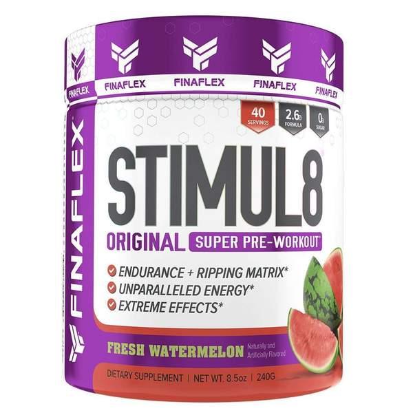 FINAFLEX STIMUL8, Original Super Pre Workout Powder