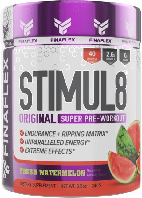 Finaflex Stimul8 Pre Workout   Adrenaline Enhancer