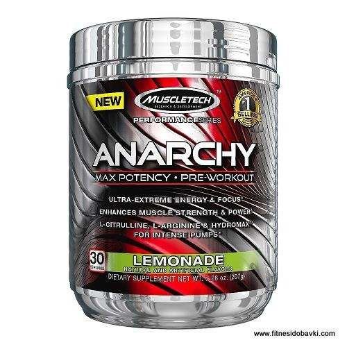 Muscletech Anarchy | Fitnesidobavki.com | Preworkout, Muscletech, Pre workout nutrition