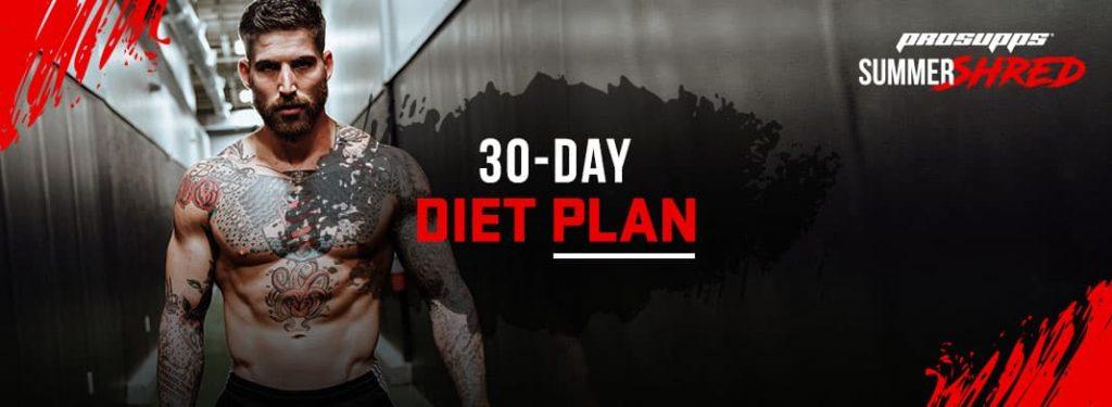 30 Days to Fit: Diet Plan