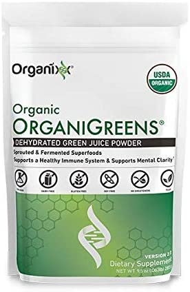 Amazon.com: OrganiGreens: Green Juice - Organic Superfood Supplement Powder - 30 Day Supply - Organic Greens - Dehydrated Green Juice - Boost Immune System - Hydrates and Revitalizes: Health & Personal Care
