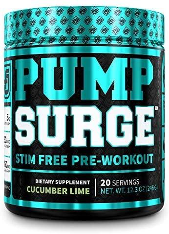 """PUMPSURGE Caffeine-Free Pre-workout""的图片搜索结果"