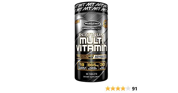 MuscleTech Advanced Daily Multivitamin