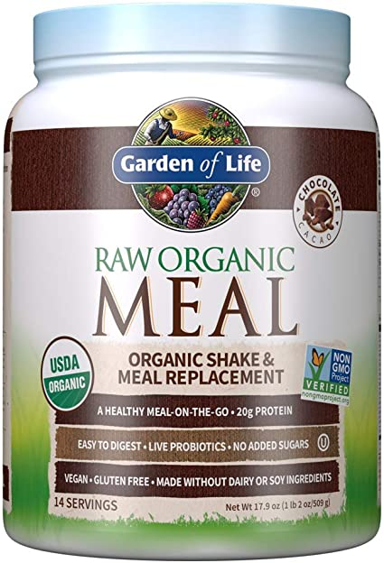 """Garden of Life Meal Replacement Chocolate Powder""的图片搜索结果"