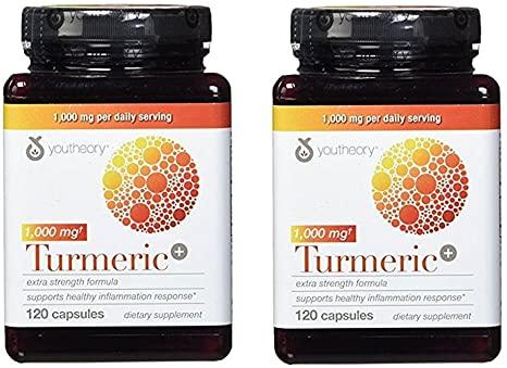 """Youtheory Turmeric Extra Strength Formula Capsules 1,000 mg per Daily""的图片搜索结果"