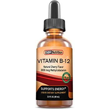 """Vitamin B12 Liquid Drops, Sublingual, Methylcobalamin, Vegan, NON-GMO""的图片搜索结果"