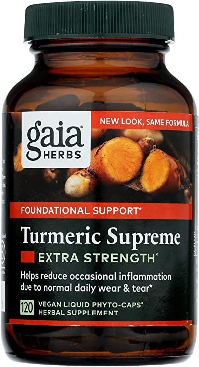 """Gaia Herbs Turmeric Supreme""的图片搜索结果"