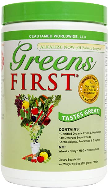 Amazon.com: Greens First Nutrient Rich-Antioxidant SuperFood, 9.95 Ounces: Health & Personal Care