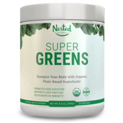 Nested Super Greens Review 2020 (Great Nutrients, Great Value)