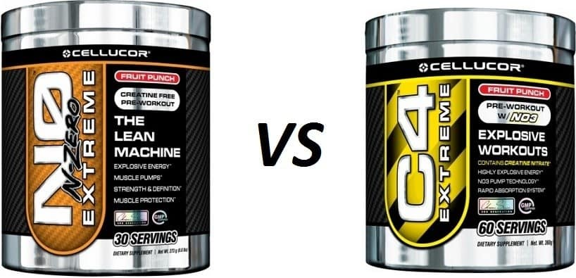 Difference Between NO Extreme and C4 Extreme - Cellucor