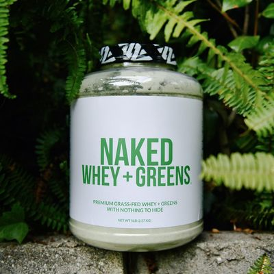 Before & After: Naked Green Smoothie by Naked Nutrition - SnapTwice
