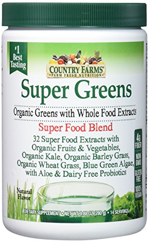 Country Farms Super Greens Review   Top Green Superfood Drink Reviews