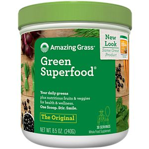 Green Superfood - ORIGINAL (8.5 Ounces Powder) by Amazing Grass at the Vitamin Shoppe