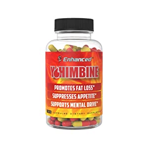 Amazon.com: Enhanced Athlete - Yohimbine Fat Loss Accelerator - Appetite Suppressing Supplement to Promote Fat Loss (600mg) (120 Capsules): Health & Personal Care