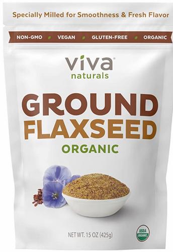 """Viva's Natural Organic Flaxseed Fiber""的图片搜索结果"