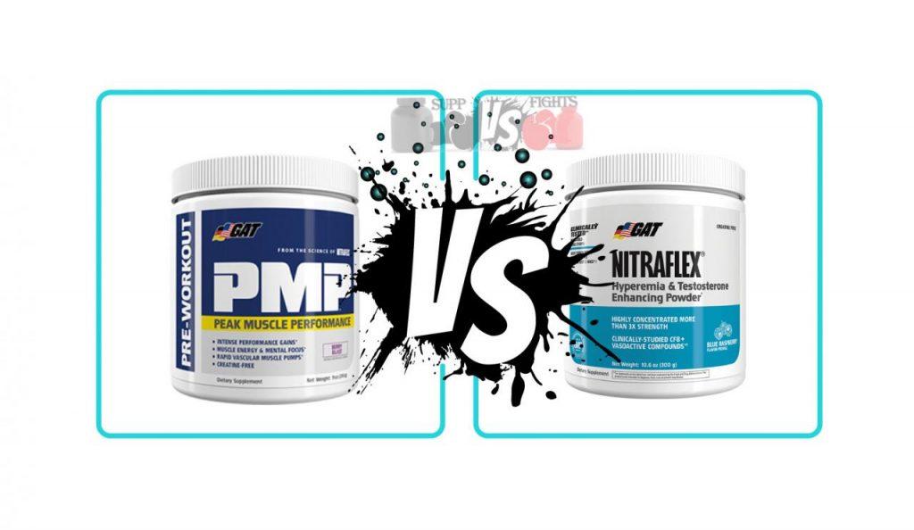 GAT PMP vs. Nitraflex Supplement Reviews & Comparison Hub