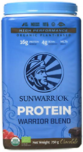 Sunwarrior Warrior Blend Organic Raw Vegan Protein Powder, Chocolate, 750g 814784021461   eBay