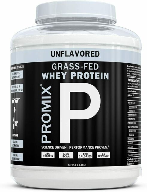 """""""ProMix Nutrition Container of Unflavored Grass-Fed Whey Protein""""的图片搜索结果"""