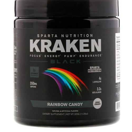 Sparta Nutrition Caffeine Kraken Black