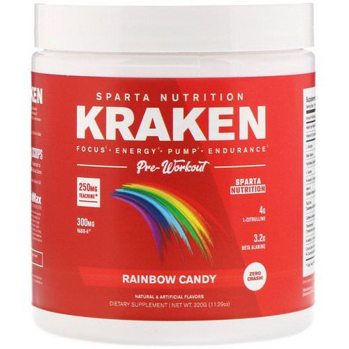 Sparta Nutrition Pre-Workout Kraken