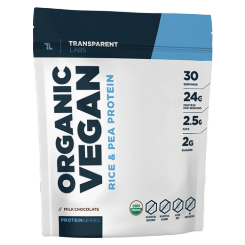 Transparent Labs Organic Vegan Protein Reviews - Ingredients, Flavors, Side Effects, Benefits