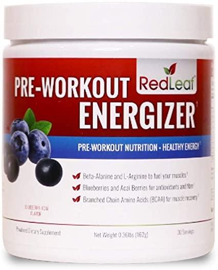 leaf pre workout energizer;red leaf pre workout
