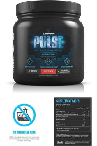 Legion Pulse Pre Workout - legion athletics 1/2
