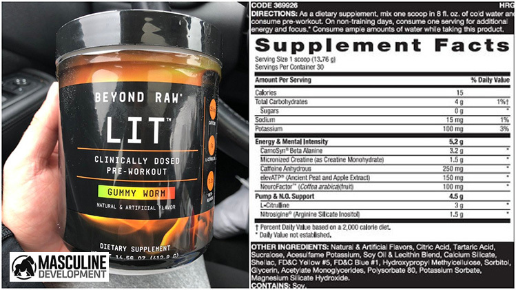 Beyond Raw LIT Pre-Workout: In-Depth Review (Update 2020)
