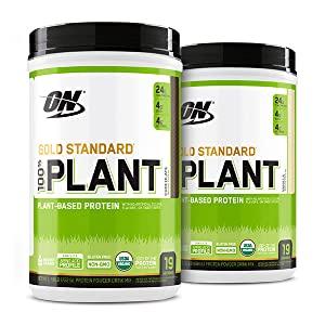 Amazon.com: Optimum Nutrition Gold Standard 100% Plant Based Protein Powder, Vitamin C for Immune Support, Vanilla, 1.51 Pound: Health & Personal Care