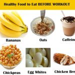 What are good foods to eat before a workout?