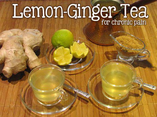 Living with Fibromyalgia | Recipe | Ginger tea, Ginger tea recipe, Lemon ginger tea benefits