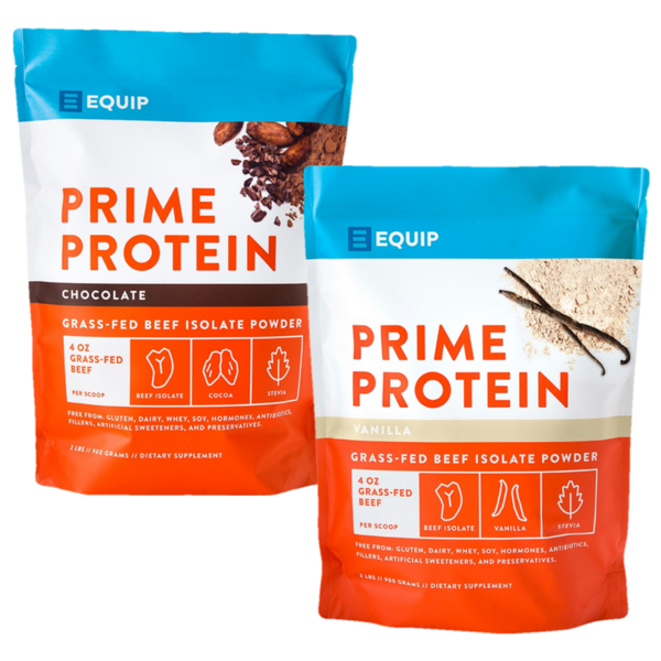 Equip - Prime Protein - Grass-Fed Beef Isolate Protein Powder - 2 lbs | Grass fed beef, Isolate protein, Protein powder