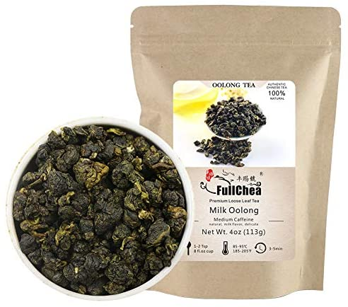 Amazon.com : FullChea - Milk Oolong Tea - Oolong Tea Loose Leaf - Taiwan High Mountain Tea Jin Xuan Milk Oolong - Naturally Milky and Silky Aroma - Weight Loss Tea -