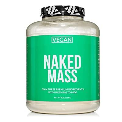 Buy Naked Vegan Mass – Natural Vegan Weight Gainer Protein Powder – 8lb Bulk, GMO Free, Gluten Free, Soy Free & Dairy Free. No Artificial Ingredients – 1,230 Calories – 11 Servings Online in Hong Kong. B07XTQKYG1